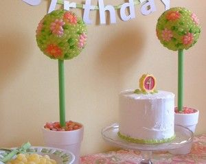 jelly belly topiary craft