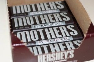 Mother's day Hershey chocolate bars craft