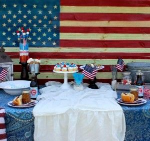 Memorial Day Backyard Candy Celebration