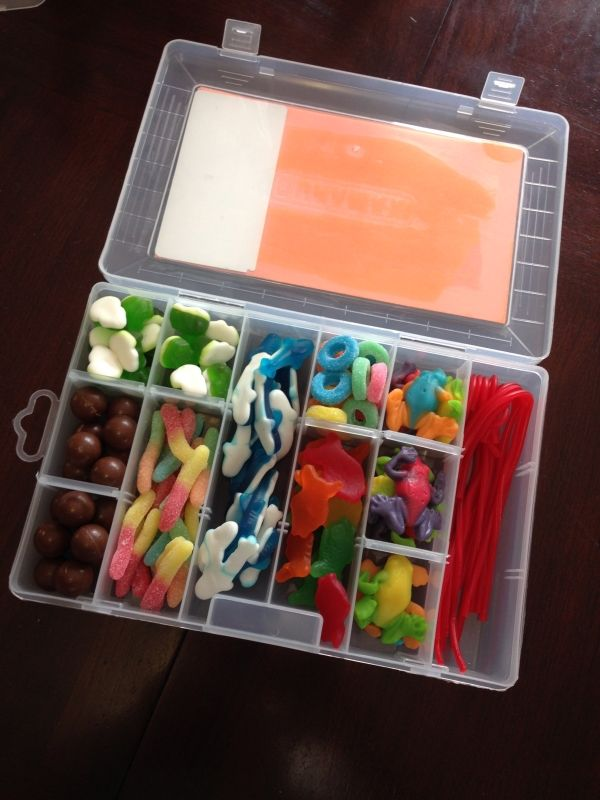 Fathers day candy tacklebox