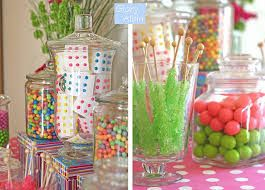 Candy Jars and Displays