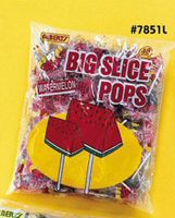 Big Slice Watermelon Pop  1~48ct. Bag
