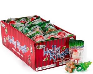 Holly Jolly Candy Rings ~ 48 Count
