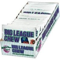 Big League Chew Grape ~ 12 - 2.12oz Pouches