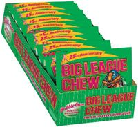 Big League Chew Watermelon ~ 12 - 2.12oz Pouches