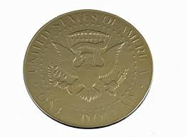 "3"" Fort Knox US Dollar Chocolate Gold Coin Medallion - 30 Count Box"