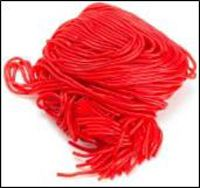 Gustaf&#039;s Strawberry Laces - 2lb Bag