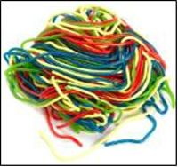 Gustaf's Rainbow Laces - 2lb Bag