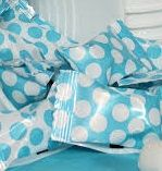 Caribbean Blue Polka Dot Buttermints ~ 50 Count Bag