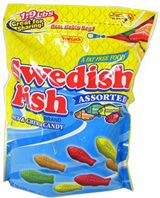 Mini Asst. Swedish Fish ~ 1.9lb. bag