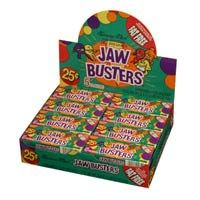 Jaw Busters 12 ~ 24 Count Boxes