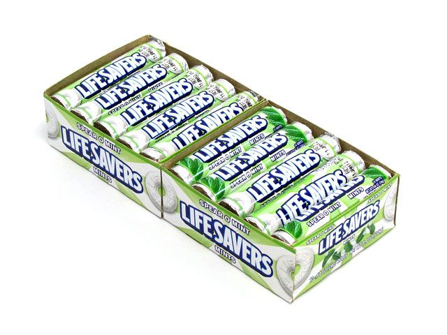 LifeSavers Spear-O-Mint Roll - 20 Count