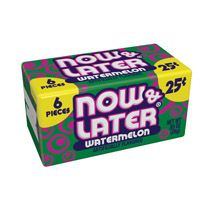 Now and Later Watermelon ~ 24 Count