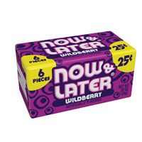Now and Later Wild Berry ~ 24 Count