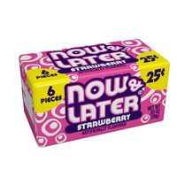 Now and Later Strawberry ~ 24 Count