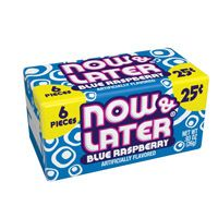 Now and Later Blue Raspberry  ~ 24 Count