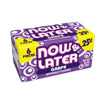 Soft Now and Later Grape ~ 24 Count
