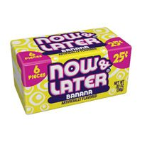 Now and Later Banana ~ 24 Count