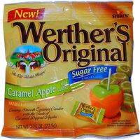 Sugar Free Werther&#039;s Caramel Apple  ~ 12 - 2.75oz Bags  