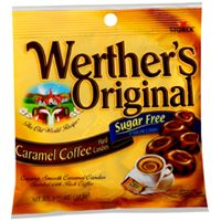 Sugar Free Werther&#039;s Caramel Coffee  ~ 12 - 2.75oz Bags 