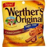 Sugar Free Werther&#039;s Caramel Cinnamon  ~ 12 - 2.75oz Bags  