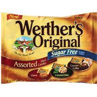Sugar Free Werther's Assortment  ~ 12 - 7.7oz Bags