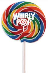 Rainbow Whirly Pops ~ 24 count