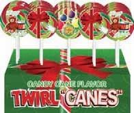 Christmas Twirl Pop ~ 36 count