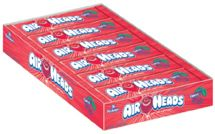 Air Heads Cherry Taffy Bars ~ 36ct Box