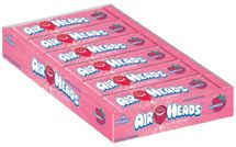 Strawberry Air Heads Taffy Bars 36ct. Box