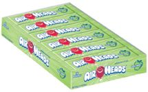 Air Heads Green Apple Taffy Bars 12~36ct. Boxes