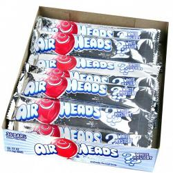 AirHeads White Mystery Taffy Bar 12~36ct. Boxes