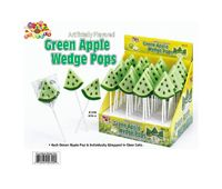 Green Apple Wedge Pops ~ 36 Count  