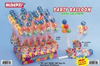 Party Balloon Lollipops ~ 12 Count