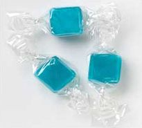 Blue Peppermint Cubes