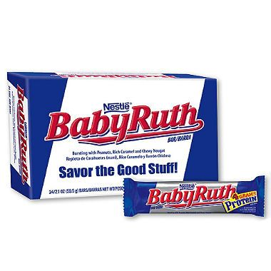 Baby Ruth Candy Bar - 24ct.