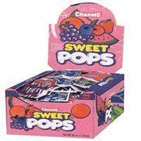 Charms Sweet Pops 48 Count Box