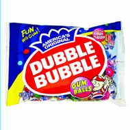 Dubble Bubble Gum Balls 24 Assorted ~ 13oz Bags