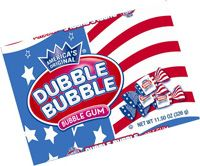 Stars and Stripes Dubble Bubble Gum
