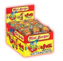 Gummi Hamburger 6 ~ 60 Count Boxes