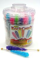 Rock Candy Sticks ~ 36 Count Tub