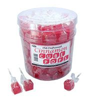 Espeez Cinnamon Cube Pop ~ 100 Count