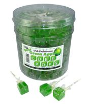Espeez Green Apple Cube Pop ~ 100 Count