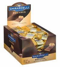 Ghirardelli  Caramel Squares ~ 120 Count