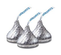 Hershey Silver Kisses ~ 5lbs.