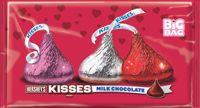 Hershey Valentine's Kisses ~ 4.3lb Bag