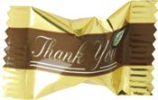 """Thank You"" Pastel Chocolates ~ 1000 Count"