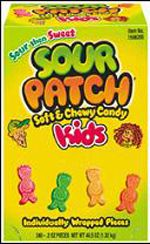 Sour Patch Kids ~ 240pcs.