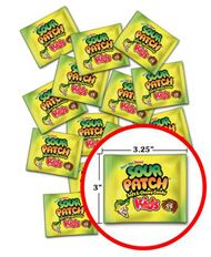 Sour Patch Treat Packs ~ 120pcs.