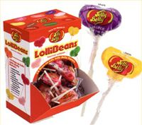 Jelly Belly Lollibean Lollipops ~ 96ct. Box